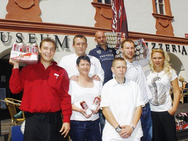 Pizzeria Muzeum vyhrála sto piv