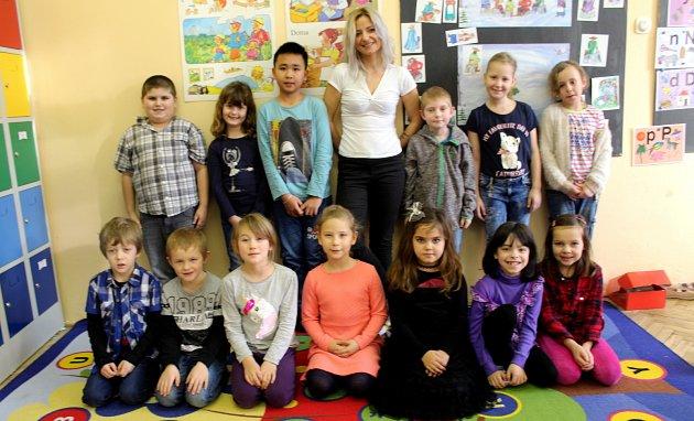 Základní škola Zásmuky, třída I. B  sučitelkou Lucií Šebkovou