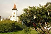 Odpoledne Bílé soboty v Pečkách