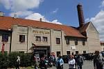 Černokostelecký Paďour odstartoval z pivovaru.