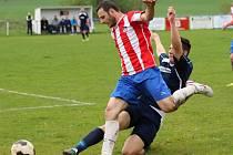 Z utkání Liblice - Radim (2:0).