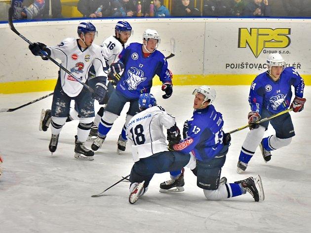 Hokejisté Kolína vyhráli v Táboře 5:2.