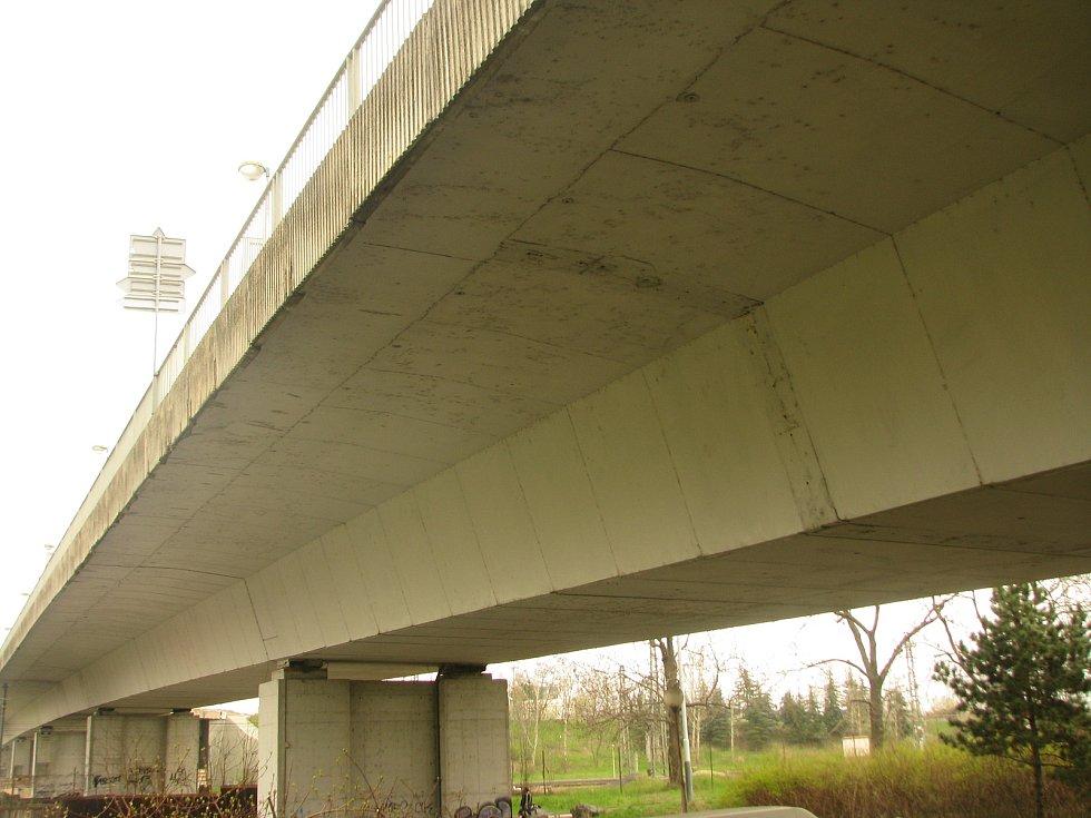 Nový most v Kolíně.