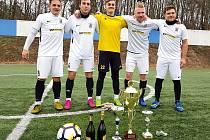 Mistrem Borky ligy se stalo Dynamo VKK Kolín.