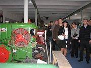 Ze slavnostního otevírání Muzea veteránů Radovesnice II