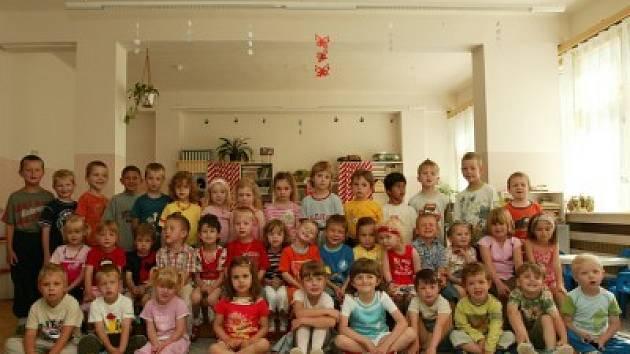 Děti z mateřské školy Bezručova v Kolíně.