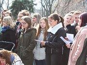 Studentská stávka Vyjdi Ven v Kolíně