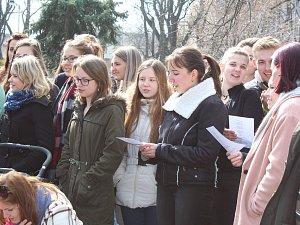 Studentská stávka v Kolíně