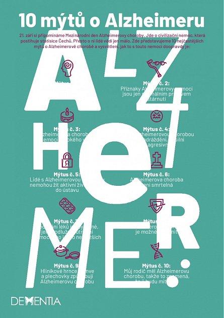 10 mýtů oAlzheimeru.