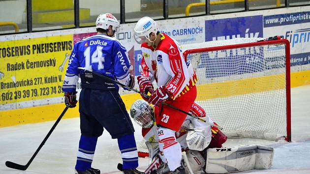 Z utkání II.NHL, Kolín - Žďár n/S 7:2