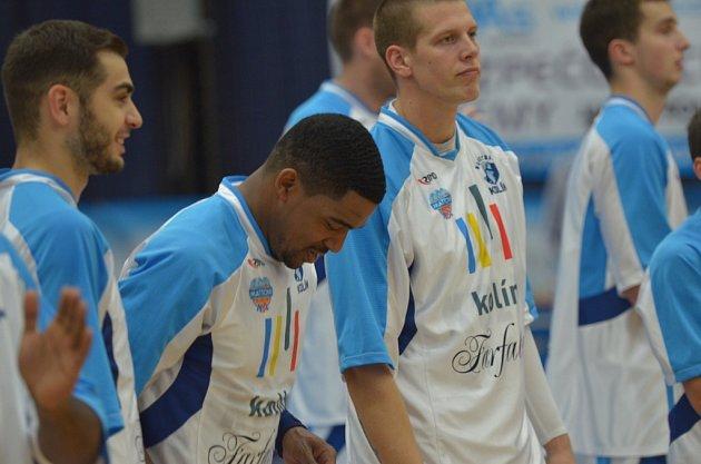 Z utkání BC Farfallino Kolín - BK Opava (77:86).