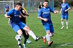 Z utkání Břežany II - Tuchoraz (2:5).