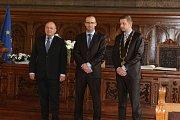 Slavnostní předání Ceny města Kolína Luboši Dobrovskému