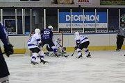 II. hokejová liga: HC Vlci Jablonec nad Nisou - SC Kolín 4:6 (4:0, 0:3, 0:3).