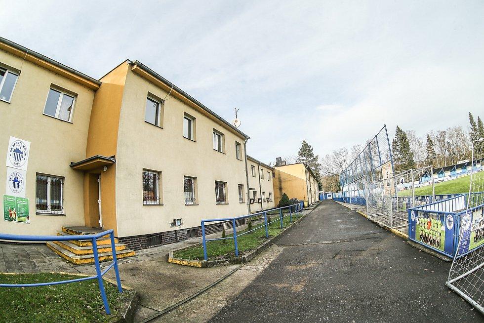 Ubytovna FK Kolín.