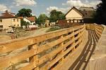 Původní most v Bečvárech byl stržen, na jeho místě vyroste zcela nový