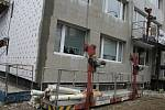 Zateplení panelových domů v kolínské Masarykově ulici