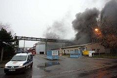 Požár -  Sendražice 20.12. 2008