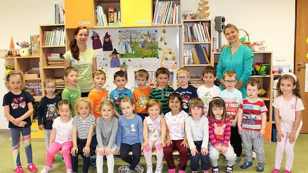 Mateřská škola v Jestřabí Lhotě - třída Včeličky.