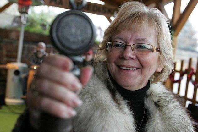 Starostka roku Vladislava Moravčíková s oceněním Starostka roku.