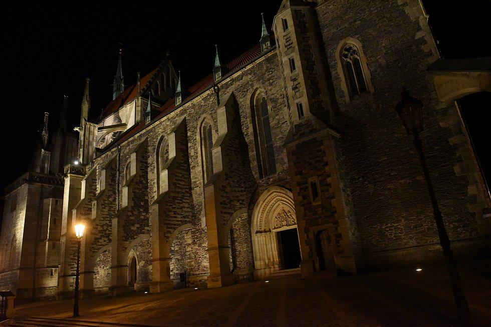 Chrám svatého Bartoloměje v Kolíně.