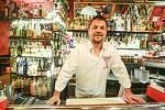 Jiří Vavřička, majitel Cocktail Baru Barborská v Kutné Hoře.