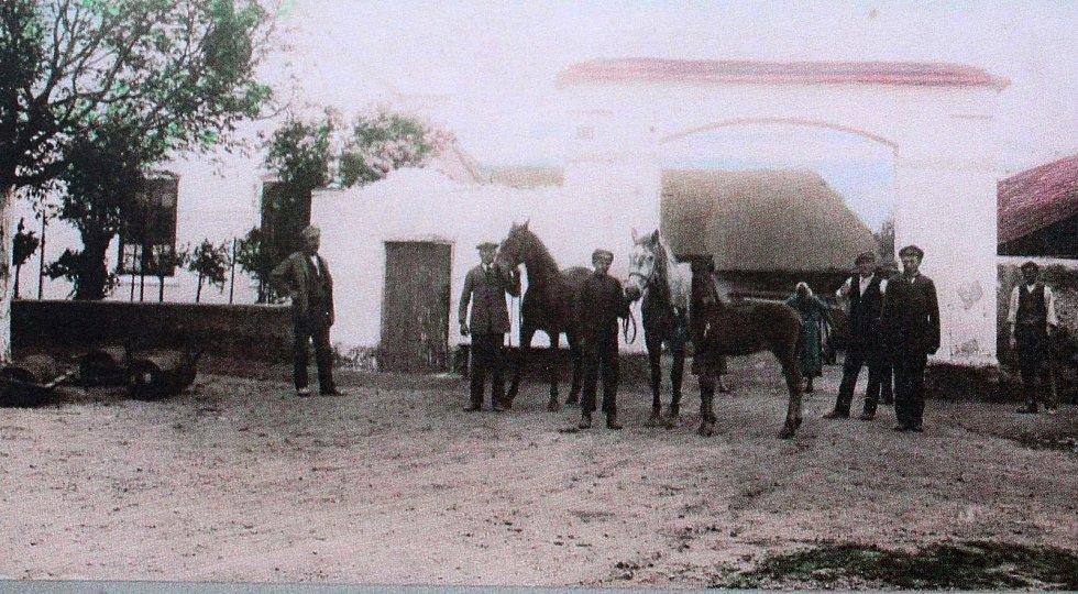 Fotografie z Radimku pochází z 27. června 1922.