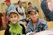Náš Deník byl první školní den s prvňáky.