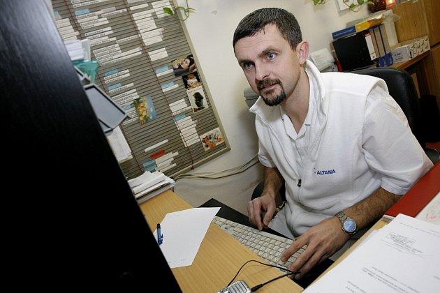 Náměstek zdravotní péče českobrodské nemocnice Petr Blažek