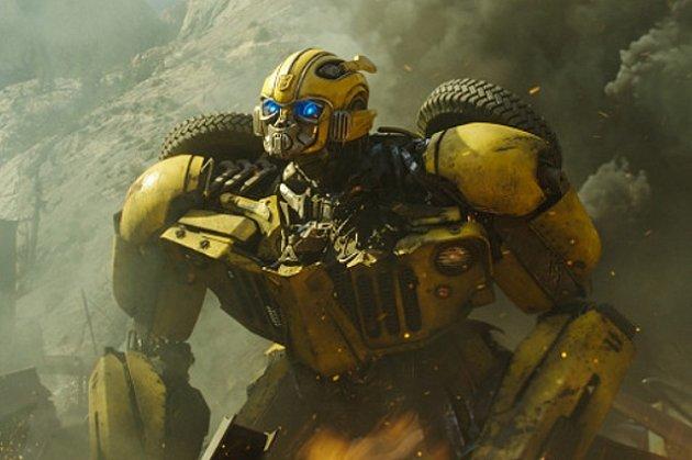 Záběr zamerického filmu Bumblebee.