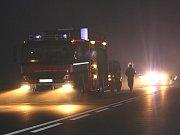 Dopravní nehoda u Ovčár.