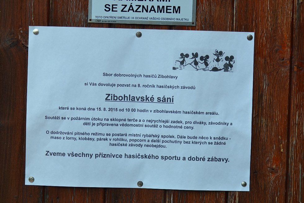 Zibohlavského sání se zúčastnilo čtrnáct družstev
