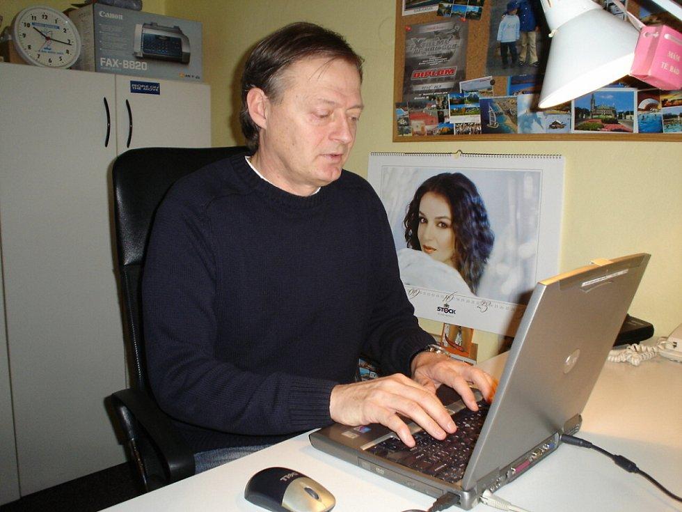 Odvolaný trenér Stanislav Kocourek