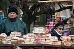 Adventní trh připomněl blížící se Vánoce
