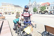 Michal Müller vyrazil na cyklistickou cestu do Polska