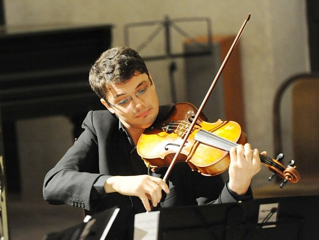 Klarinetistu Daniela Svobodu nakonec na koncertu v synagoze doprovodil Benda Quartet