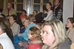 Pěvecký sbor zazpíval v prostorách zámku