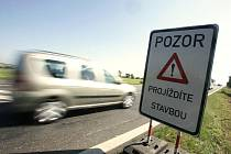 Oprava silnice I/12 z Kolína na Prahu