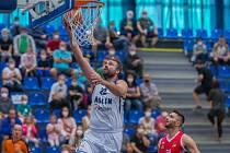 Z utkání NBL BC Kolín - Brno (80:89).