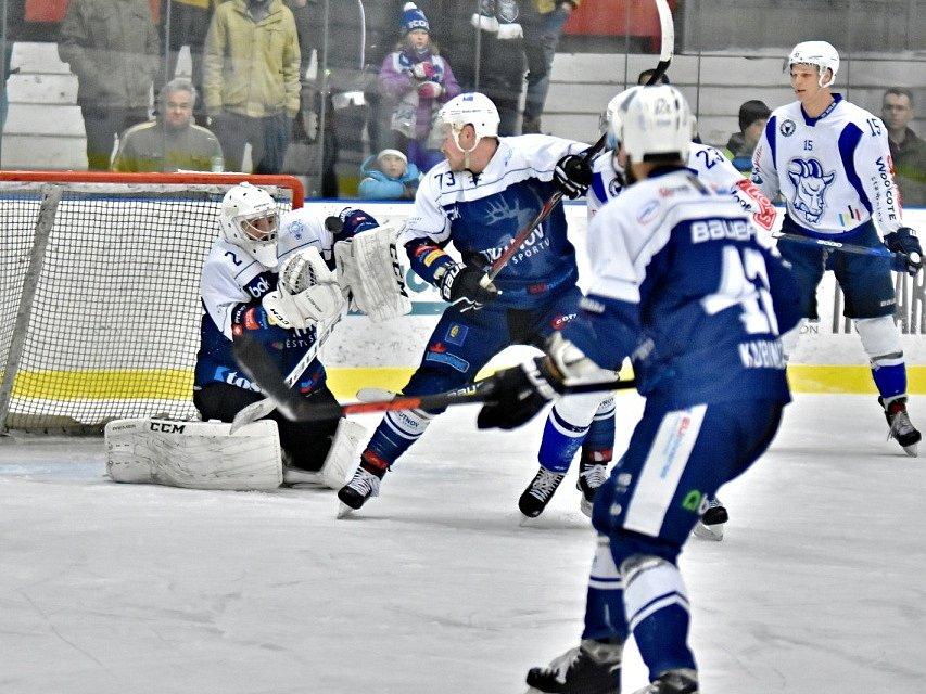Z utkání SC Kolín - Trutnov (4:6).