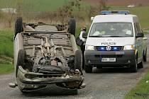 Nehoda mezi obcemi Kutlíře a Křečhoř