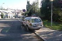 Parkování v Kolíně, 20.8.2009