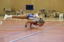 Sportovní hala TJ Slavoj hostí po celý víkend již 16. ročník českobrodské soutěže v aerobiku.