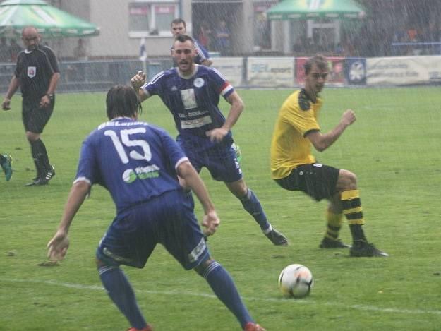 Z utkání FK Kolín - Vysoké Mýto (2:2, PK 4:2).