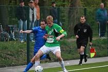 Z utkání staršího dorostu FK Kolín - Jablonec 97 (0:3).