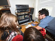 Kolínská televize otevřela veřejnosti své studio.