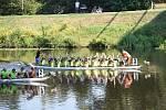 Na Kmochově ostrově se soupeřilo O putovní pohár starosty města Kolína.