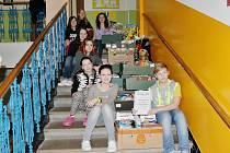 Díky žákům Základní školy Pečky dostali svěřenci záchranné stanice krásnou a bohatou nadílku.