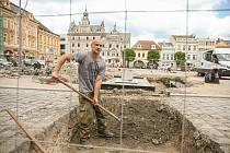 Práce na rozvaděči na Karlově náměstí v Kolíně by měly být hotové do konce června.