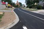 Řidičům je od začátku srpna k dispozici opravená silnice v Plaňanech.